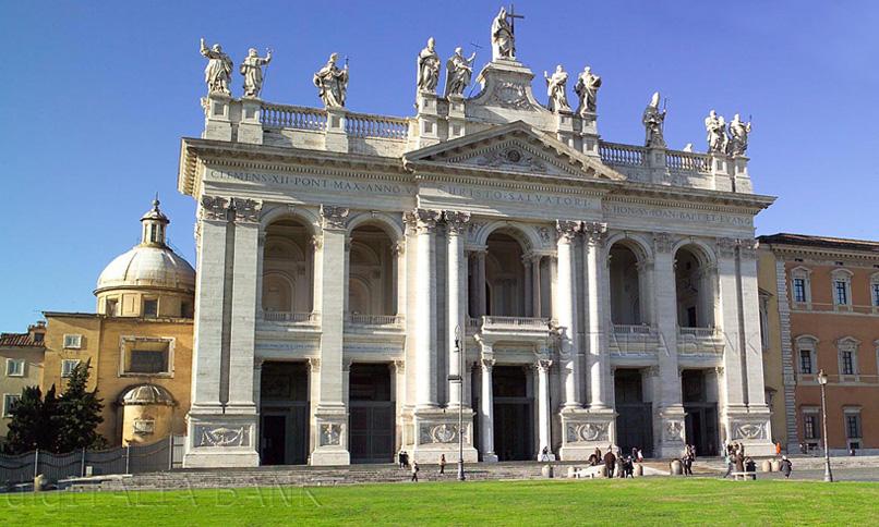 Roma-Basilica-Papale-San-Giovanni-In-Laterano