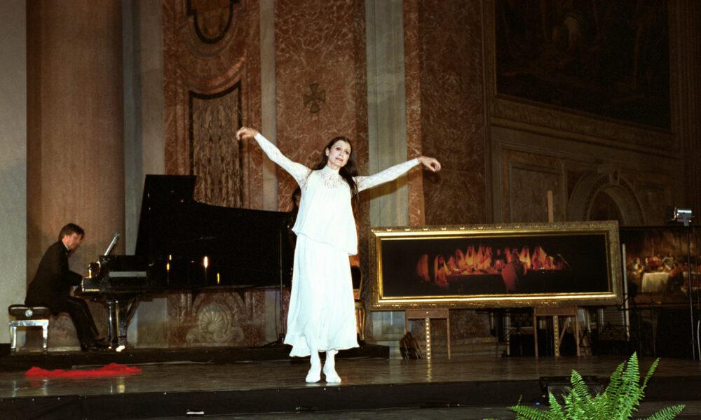 Carla Fracci nella Città della Pace ideata da Fabio Gallo - Basilica S. Maria degli Angeli e dei Martiri di Roma