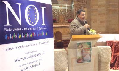 Movimento cattolico NOI – Cosenza – Chiesa San Francesco di Assisi – Città Storica – il Portavoce Nazionale Fabio Gallo