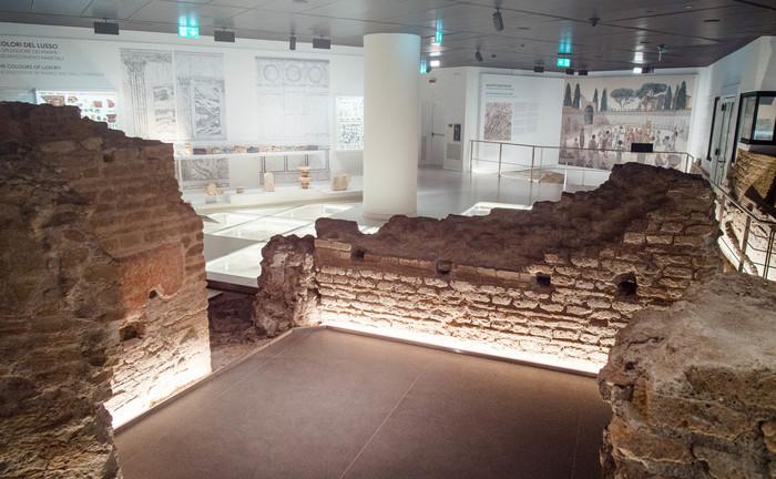 Museo del ninfeo, la Domus Aurea di Caligola