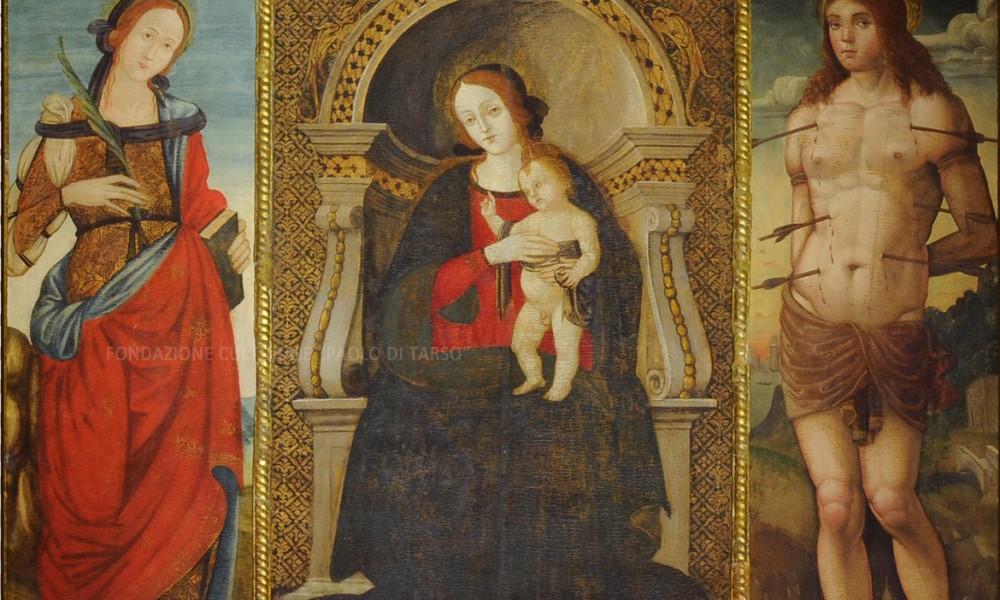 Patrimonio Culturale dell'Ordine dei Minimi: Trittico – Altare Maggiore San Francesco di Paola – Cosenza